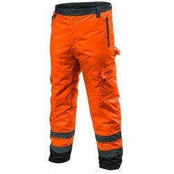 Spodnie robocze ocieplane pomarańczowe XXXL NEO