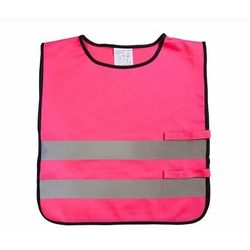 Kamizelka odblaskowa dla dzieci XS 90-110cm - xs \ różowy