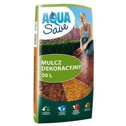 Zrębki dekoracyjne Aqua Save brązowe 50 l