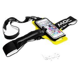 """Zestaw szelki na telefon MOC Chest Plate + etui Slip-In Bag 4,7"""" - żółty"""