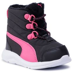 Śniegowce PUMA - Fun Racer Boot Ac Inf 194282 02 Puma Black/Glowing Pink