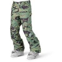 Spodnie dziecięce, spodnie CLWR - Trooper Pant Dark Forest (523)
