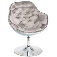 Fotele, Pikowany fotel obrotowy Pezzo Velvet