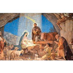 Puzzle ze sceną Bożego Narodzenia
