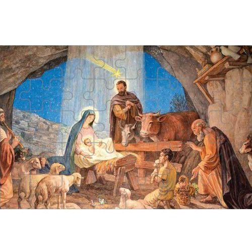 Muzyka religijna, Puzzle ze sceną Bożego Narodzenia