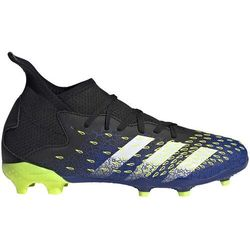 Buty piłkarskie adidas Predator Freak.3 FG Junior granatowo-zielone FY0613