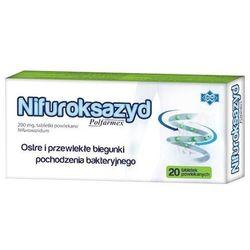Nifuroksazyd Polfarmex x 20 tabletek