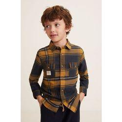 Mango Kids - Koszula dziecięca Edgar 110-164 cm