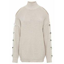 Sweter bonprix czarno-biały