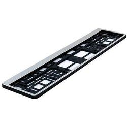 Ramka pod tablicę rejestracyjną HP Chrom 1 szt - Chrom