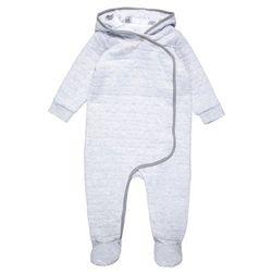 mothercare QUILTED MODERN PRAMSUIT BABY Śpioszki grey marl