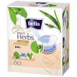 BELLA Panty Herbs Plantago sensitive wkładki higieniczne x 60 sztuk