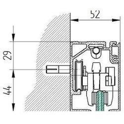 Profil aluminiowy AL-Elox 21x27 mm