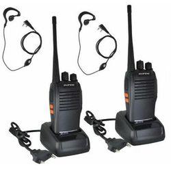 2szt. Profesjonalnych Radiotelefonów/Krótkofalówek BOAFENG (Zasięg do 6km) + Mikrofono-Słuchawki +..