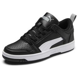 Sneakersy Rebound Layup Lo Sl Jr 370490 02 Czarny