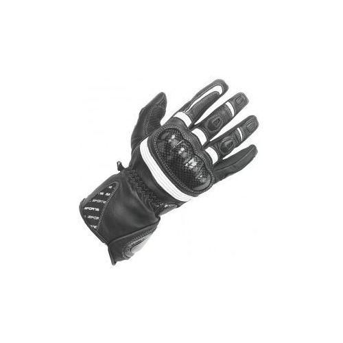 Rękawice motocyklowe, BUSE Rękawice motocyklowe damskie Misano cza/biał