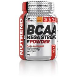 Nutrend Bcaa mega strong powder Pomarańcz 20x10g