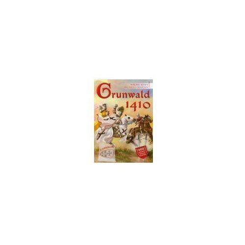Książki dla dzieci, Grunwald 1410 Wielkie bitwy dla małych historyków (opr. miękka)