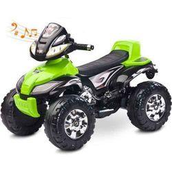 Pojazd na akumulator Toyz Quad Cuatro Green