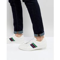 Męskie obuwie sportowe, PS Paul Smith Lapin Leather Trainer In White - White