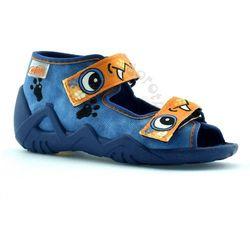 Kapcie dla dzieci Befado 250P056 Snake - Niebieski ||Pomarańczowy