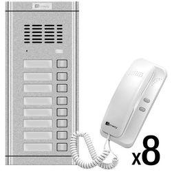 Zestaw domofonowy 8 rodzinny WL-02NE-8