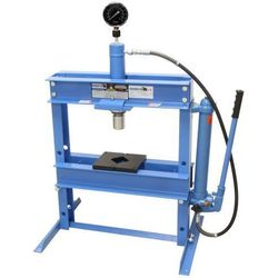 Prasa warsztatowa hydrauliczna ręczna 12 ton wersja ekonomiczna.