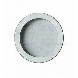 Uchwyty wpuszczane okrągłe fi 57 mosiądz matowy LC-169PI-OS