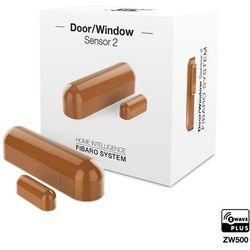 Fibaro Sensor 2 Czujnik otwarcia drzwi/okna i temperatury wewnętrzny cappuccino FGDW-002-5 - odbiór w 2000 punktach - Salony, Paczkomaty, Stacje Orlen