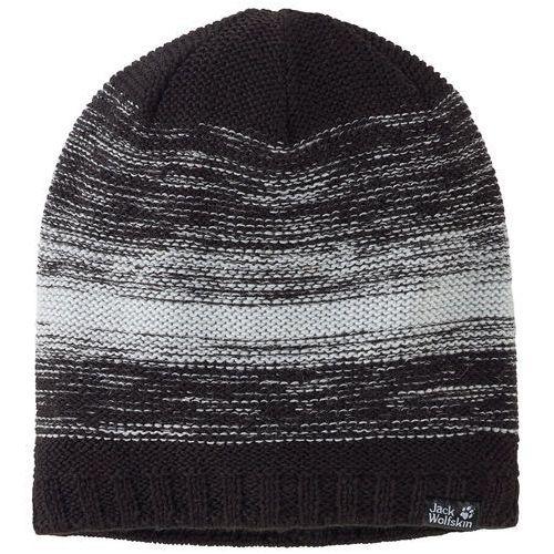 Nakrycia głowy i czapki, Czapka COLORFLOAT KNIT CAP - black