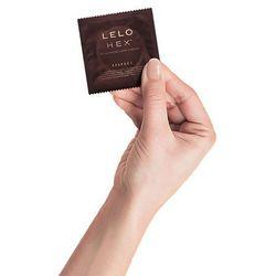 Prezerwatywy nowej generacji - Lelo HEX Condoms Respect XL 36 szt