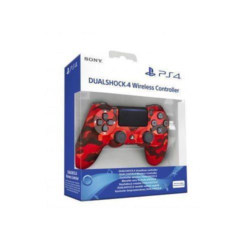 Gamepady, Sony DualShock 4 v2 (czerwony kamuflaż)