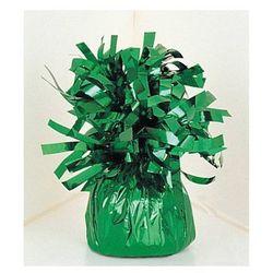 Obciążnik foliowy do balonów napełnionych helem - zielony - 176 g.
