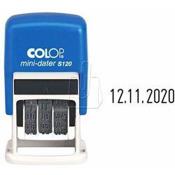 Datownik samotuszujący Colop S120 cyfrowy czarny