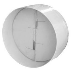 Przepustnica Dospel STYL 100 007-4250 zawór zwrotny do wentylatorów fi100 biały