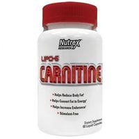 Redukcja tkanki tłuszczowej, Nutrex Lipo-6 Carnitine - 60 kaps.