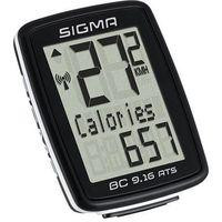 Liczniki rowerowe, SIGMA BC 9.16 ATS - Licznik rowerowy