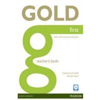 Książki do nauki języka, Gold First Książka Nauczyciela (opr. miękka)