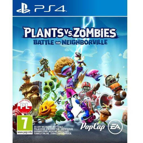 Gry na PlayStation 4, Plants vs. Zombies Garden Warfare (PS4)