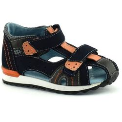Sandały dla dzieci Kornecki 04965 - Pomarańczowy ||Granatowy