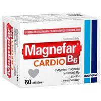 Witaminy i minerały, Magnefar B6 Cardio x 60 tabletek