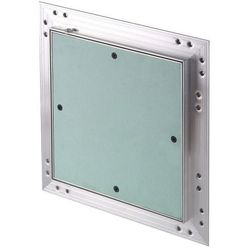 Klapa rewizyjna aluminiowa Awenta z płytą g-k 20 x 20 x 1,25 cm