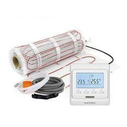 Mata grzejna + regulator temperatury + akcesoria: Kompletny zestaw Warmtec DS2-05/T510 0,5m2 (170W/m2)