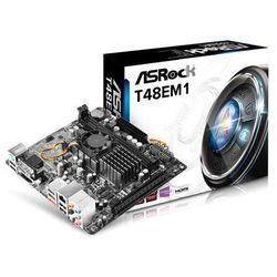 ASRock T48EM1 Płyta główna - AMD A50M - AMD Onboard socket - DDR3 RAM - Mini-ITX