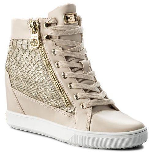 Półbuty damskie, Sneakersy GUESS - Foresst FLFOR1 PEL12 BEIGE