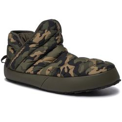 Kapcie THE NORTH FACE - Thermoball Traction Bootie T93MKHGX1 New Taupe Green/Burnt Olive Green Woodland Camo Print