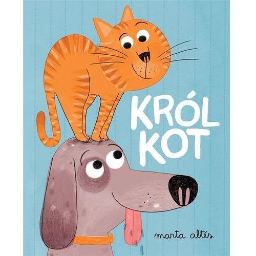 Literatura młodzieżowa, Król kot. Darmowy odbiór w niemal 100 księgarniach! (opr. twarda)