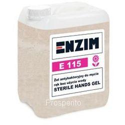 Enzim E115 antybakteryjny żel do dezynfekcji rąk 5 L bez użycia wody