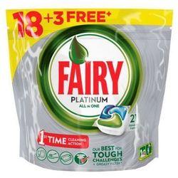 FAIRY 21szt Platinum All In One Regular Tabletki do zmywarki