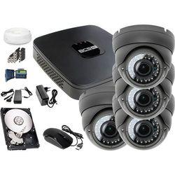 Zestaw do monitoringu: Rejestrator BCS-XVR0401E, 4x Kamera LV-AL40MVD, 1TB, akcesoria